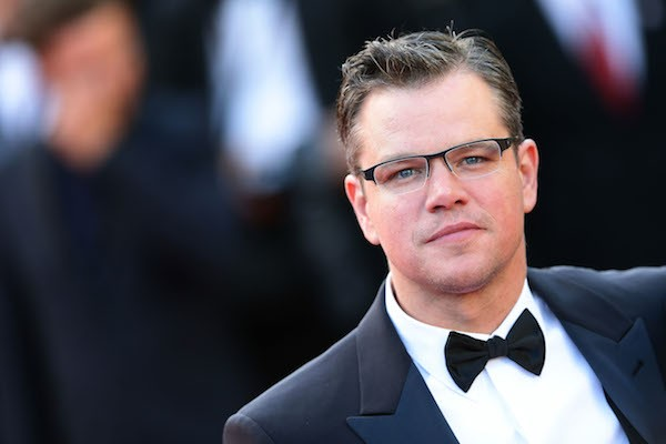 O ator Matt Damon (Foto: Getty Images)