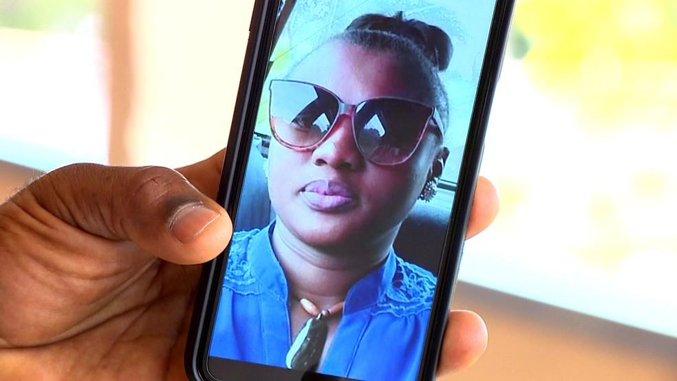 Germanie Paul, de 29 anos, foi encontrada morta dentro de um quarto de motel em Gravataí — Foto: Reprodução/RBS TV