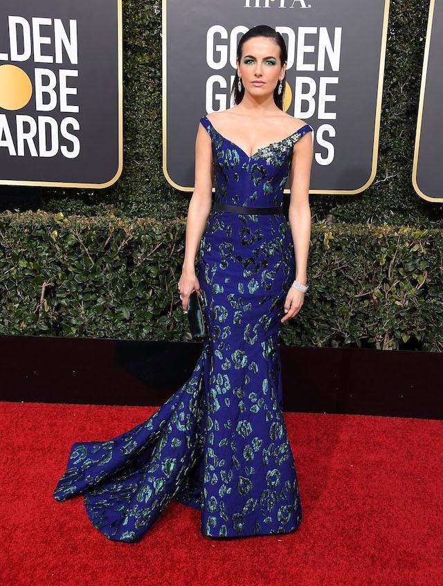 Camilla Belle de Jason Wu no Globo de Ouro 2019 (Foto: Getty Images)