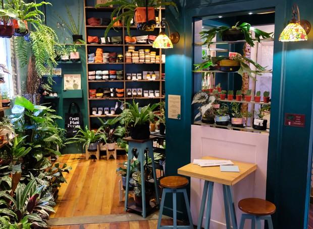 Loja Borealis dentro do café Botanique, em Curitiba (Foto: Divulgação)