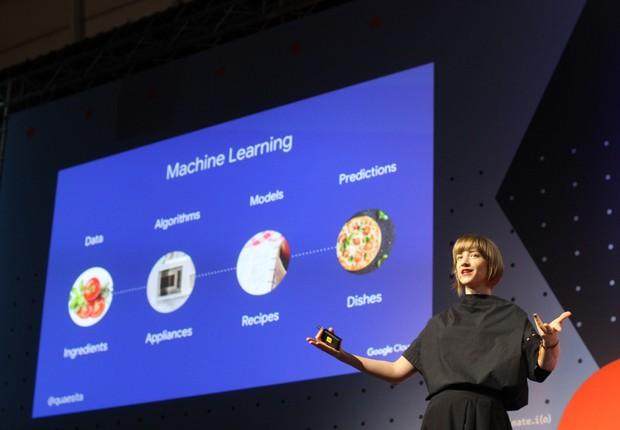 Cassie Kozyrkov, cientista do Google (Foto: Felipe Maia/ÉpocaNEGÓCIOS)
