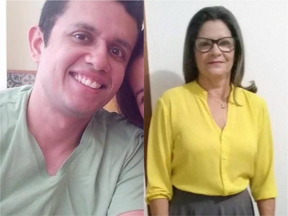 Servidor público e a sogra morreram em consequência de acidente de trânsito no litoral do Piauí — Foto: Reprodução