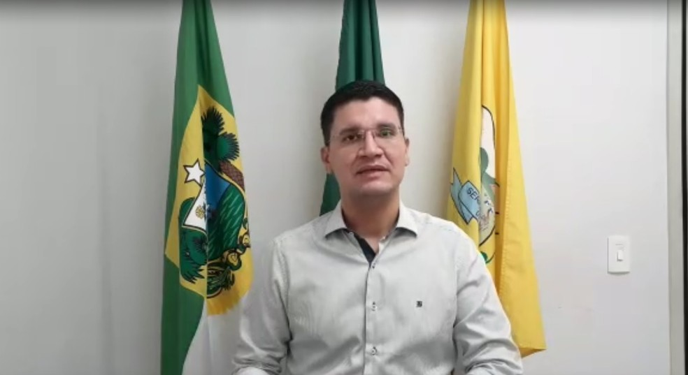 Petrúcio Ferreira é secretário municipal de educação de Serra Negra do Norte — Foto: Cedida