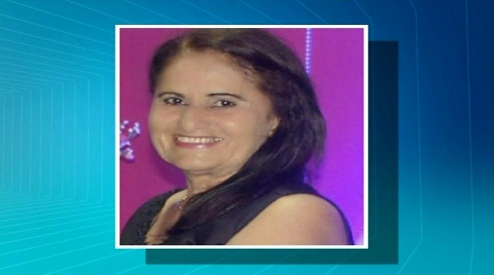 Aposentada morreu após cirurgia plástica (Foto: Reprodução/TV Anhanguera)
