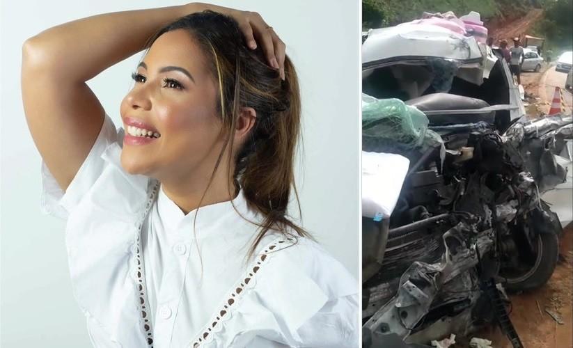 Cantora Amanda Wanessa causou acidente de trânsito que a deixou em estado grave, diz inquérito da Polícia Civil