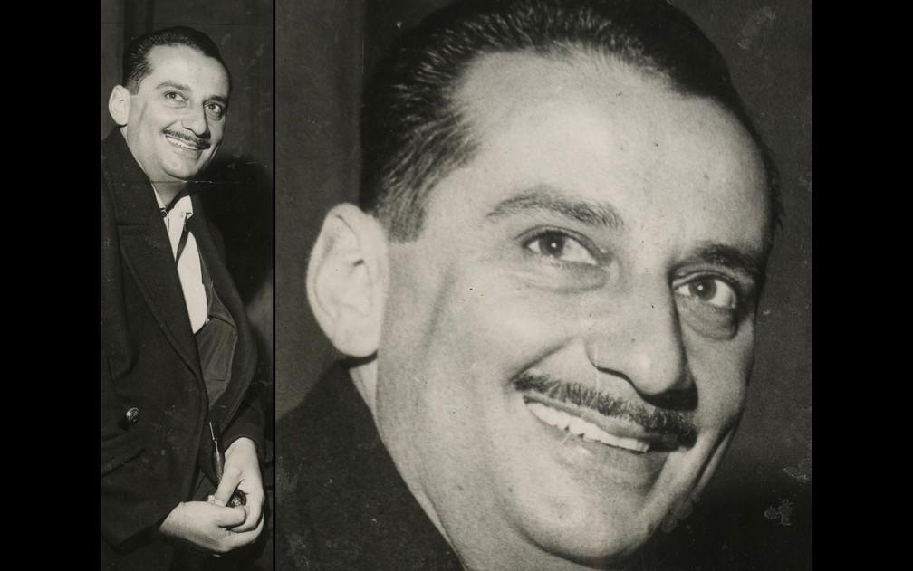 Carlos Heitor Cony, em retrato de 1964 (Foto: Folhapress/Arquivo)
