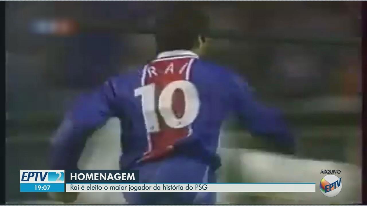 Raí é eleito o maior jogador da história do PSG