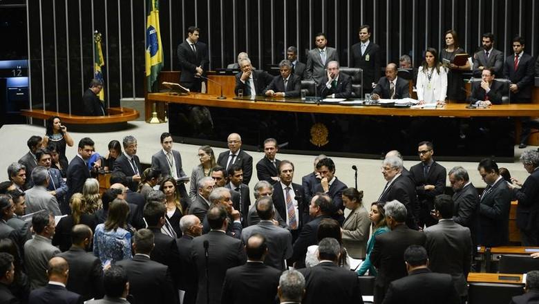 camara-deputados-eduardo-cunha-impeachment (Foto: Agência Brasil)