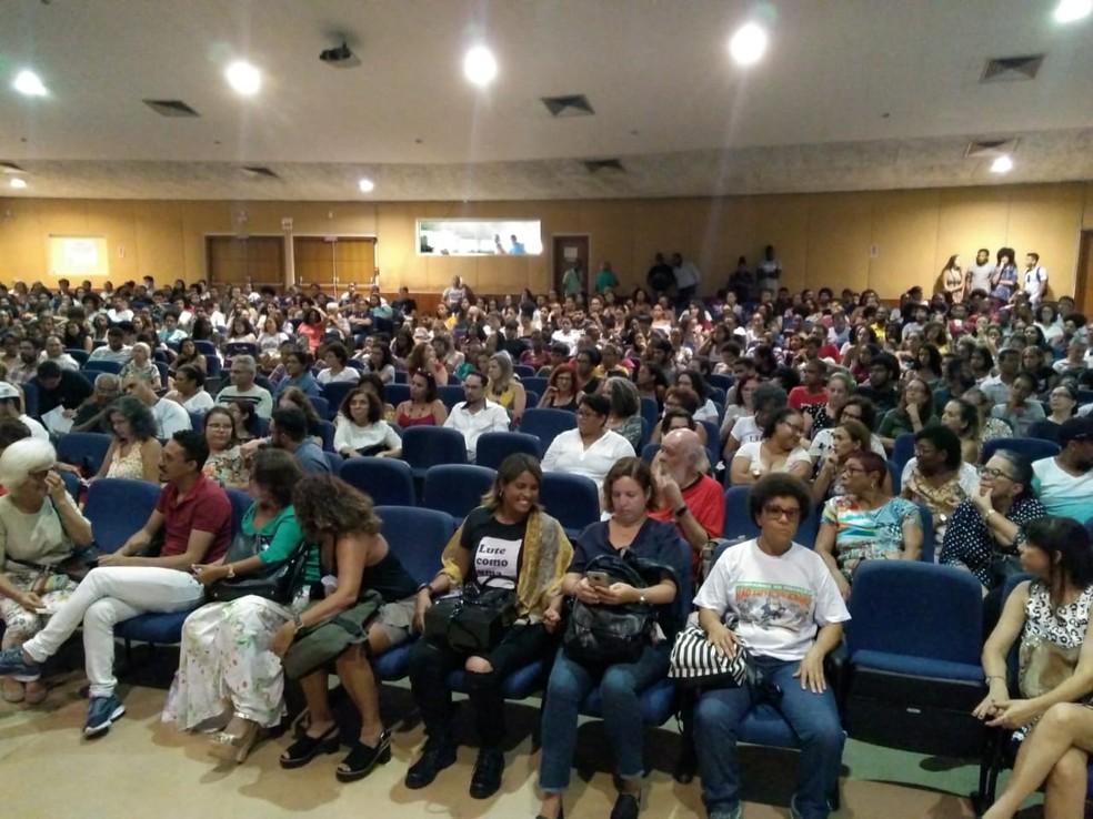Professores da Uneb entram em greve por tempo indeterminado — Foto: Divulgação/Aduneb