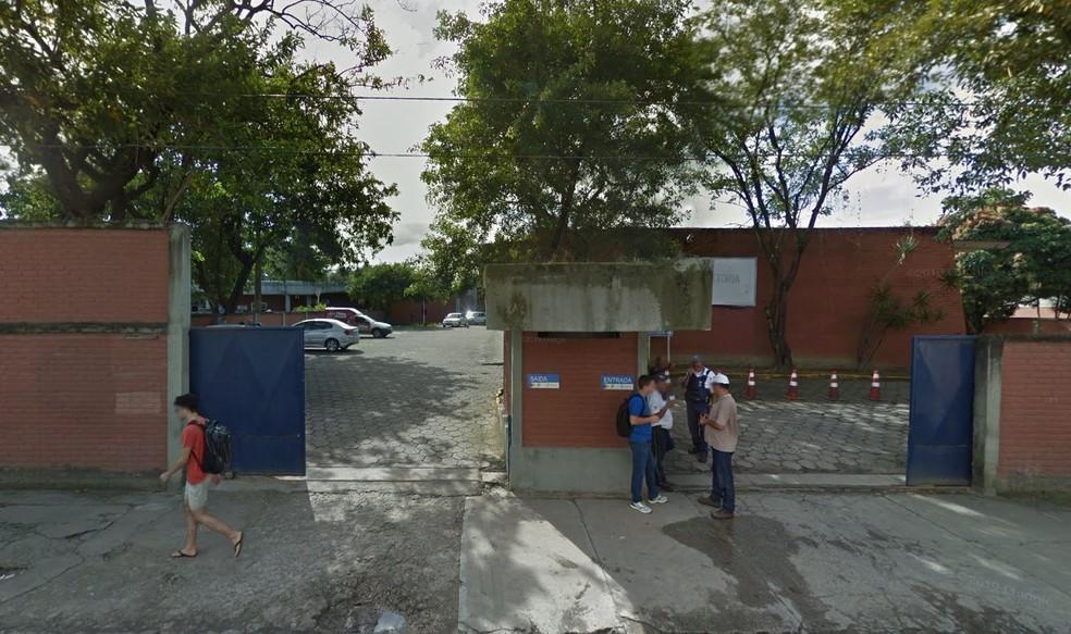 Sede do Departamento Estadual de Trânsito (Detran), na Iputinga, Zona Oeste do Recife — Foto: Reprodução/Google Street View
