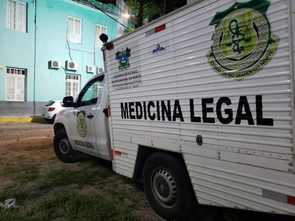 Corpos não estão sendo levados para SVO — Foto: Bruno Vital/G1