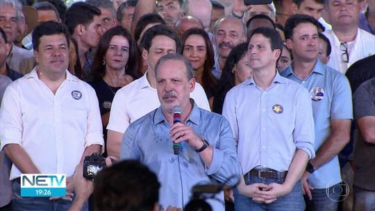 'Pernambuco Vai Mudar' oficializa candidatura de Armando Monteiro, do PTB, ao governo de PE