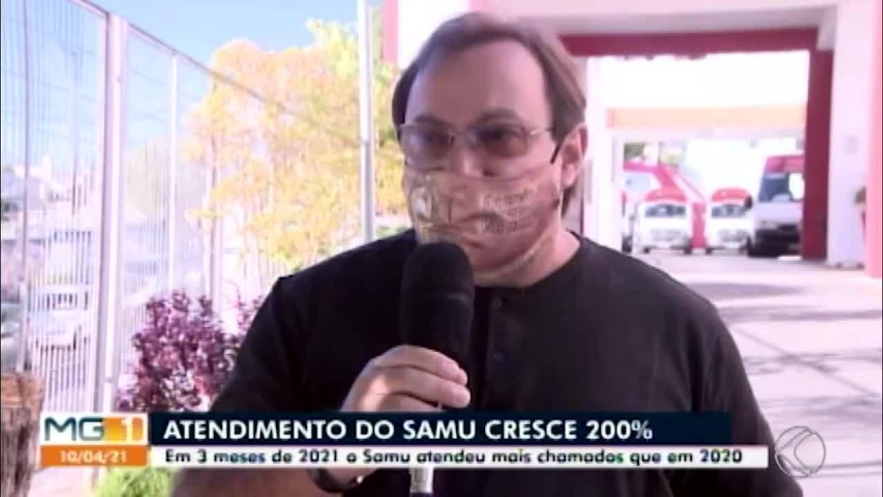 Número de atendimentos do Samu aumenta na pandemia em Divinópolis