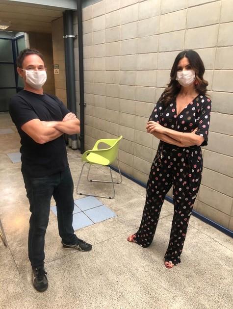 Fátima Bernardes e Jairo Bauer (Foto: Divulgação)