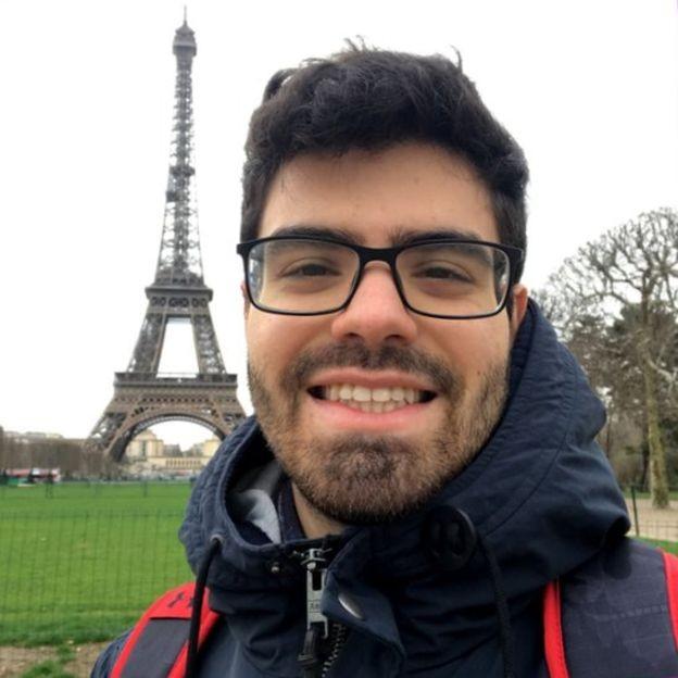 Estudante de MG foi aprovado em faculdade federal pelo Enem para conseguir vaga na França (Foto: Arquivo pessoal/via BBC News Brasil)