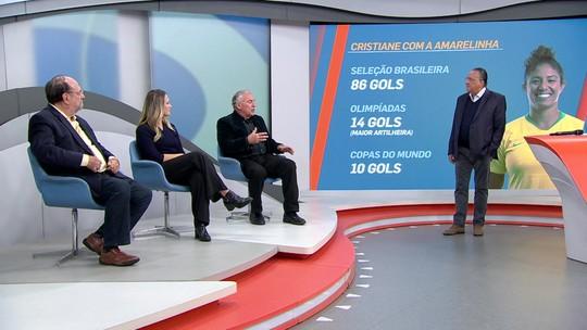 Ana Thaís elogia estreia da Seleção na Copa do Mundo, e Galvão quer vitória sobre a Austrália