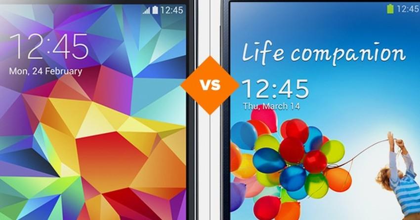 Galaxy S5 ou Galaxy S4? Veja o comparativo de smartphones da semana
