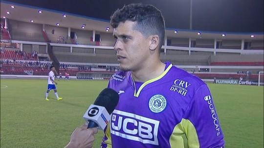Rodrigo Viana lamenta mais uma derrota do São Bento com gol no fim