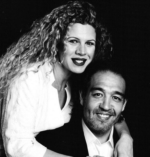 Cida Marques e o marido, Ricardo Saito (Foto: Reprodução)