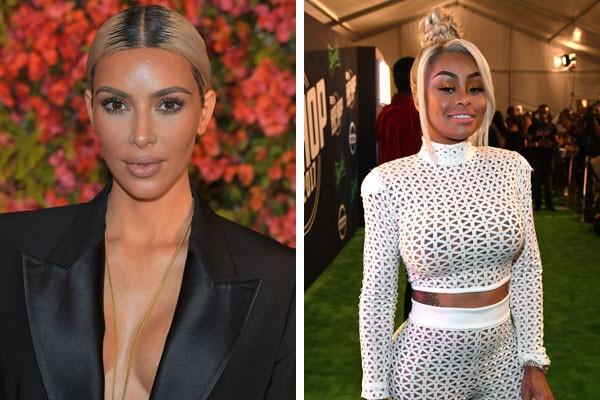 Kim Kardashian e Blac Chyna (Foto: Getty Images)