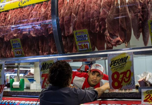 carne - açougue - venda de carne -  (Foto: Victor Moriyama/Getty Images)
