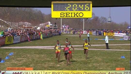 Alemitu Tariku vence prova feminina sub-20 do Mundial de cross country