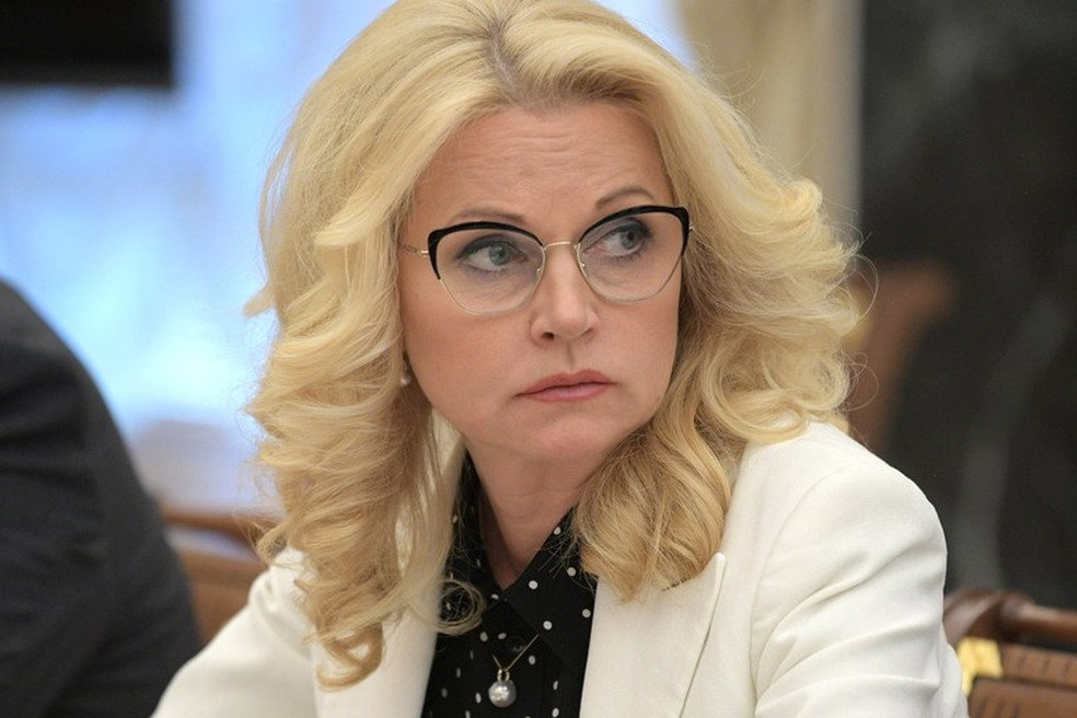 Vice-primeira-ministra da Rússia, Tatiana Golikova, em imagem de arquivo — Foto: Kremlin/Divulgação
