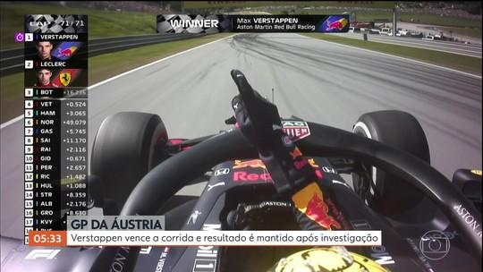Verstappen vence o GP da Áustria