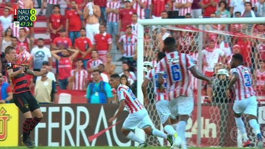 """No Sport, gol perdido contra Náutico """"assombra"""" volante Charles"""