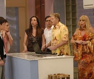 Com o elenco de 'Toma lá dá cá', em 2009: Marisa interpretava Rita no humorístico | Thiago Prado Neris