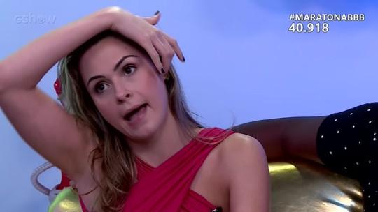 Maratona BBB: Ana Paula faz elogio a ex-brothers: 'Daniel é mais bonito, mas o Renan é gostoso'