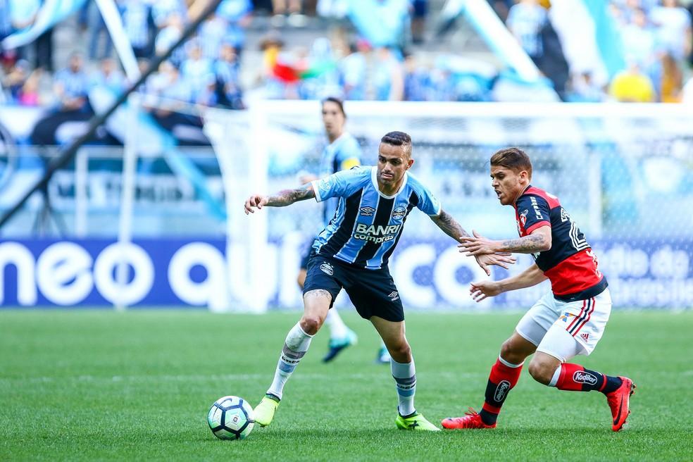 Grêmio e Flamengo se encontram na Copa do Brasil (Foto: Lucas Uebel / Grêmio, DVG)