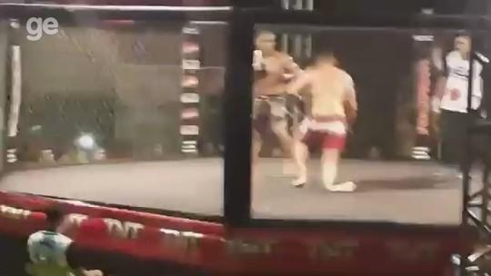Com ajuda de família e amigos, lutador de MMA é operado após fratura à la Anderson Silva