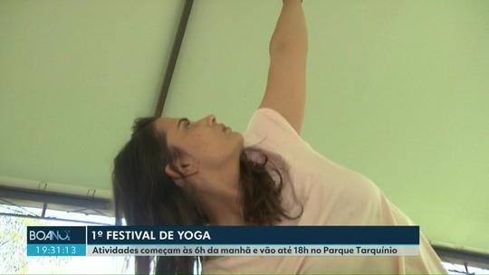 Cascavel recebe o primeiro festival de Yoga