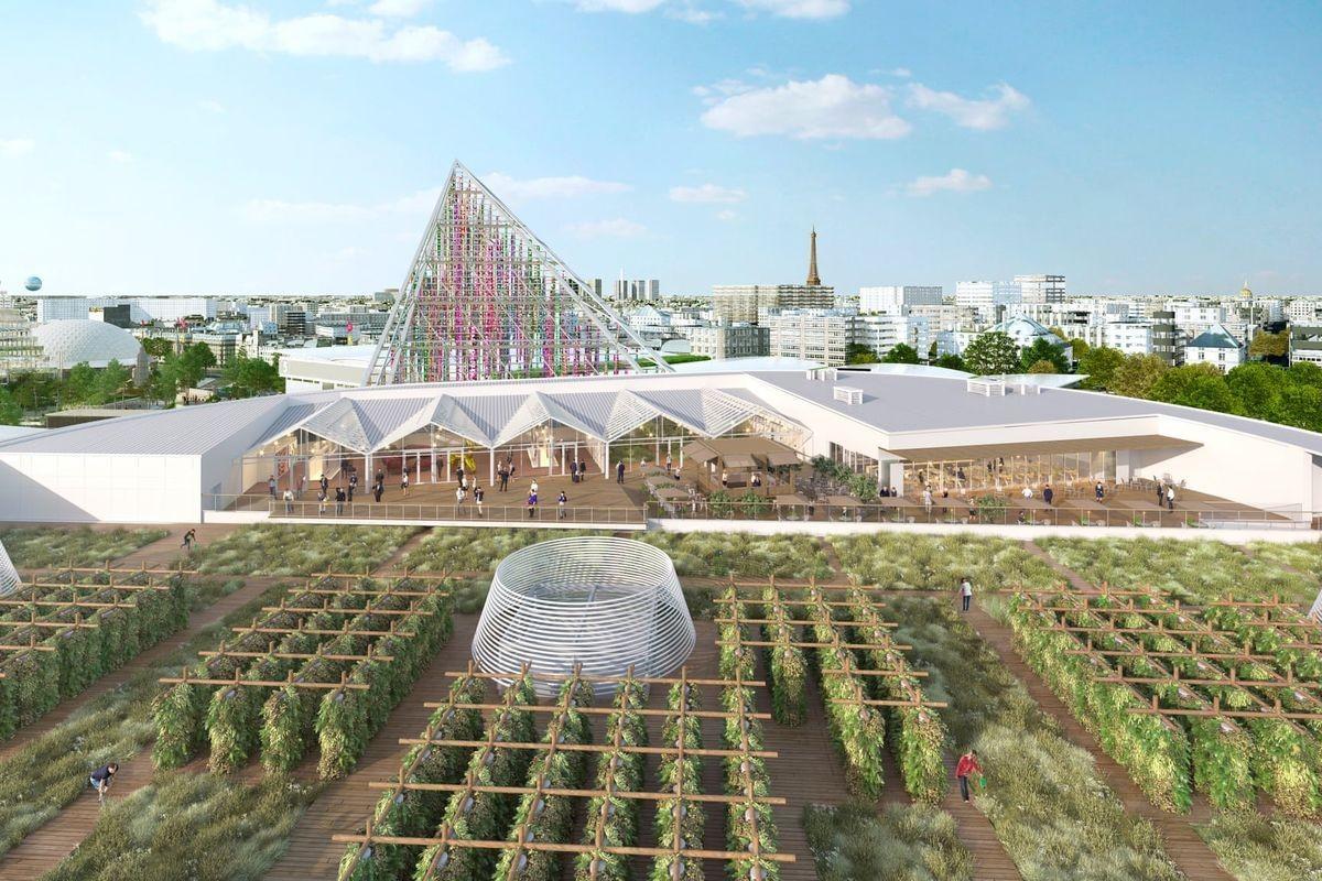 Maior Fazenda urbana do mundo é inaugurada na França (Foto: Divulgação)