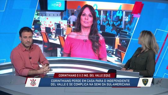 "Loffredo discorda de Carille sobre inexperiência do Corinthians: ""Justificativa para derrota"""