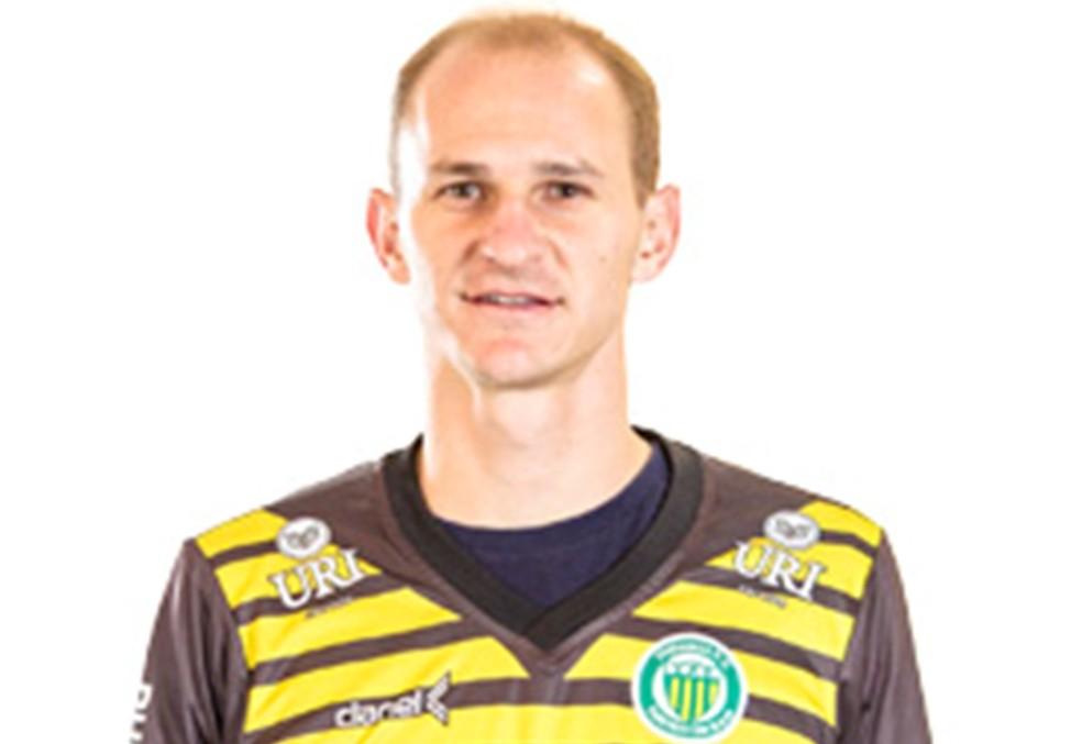 Carlão será goleiro da URT em 2018 (Foto: Divulgação)