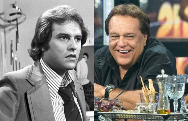 Dennis Carvalho começou a atuar nos anos 1960 e fez novelas como 'Pecado capital' (1975). É diretor desde 1977 e seu trabalho mais recente foi a novela 'Segundo Sol' (Foto: TV Globo)