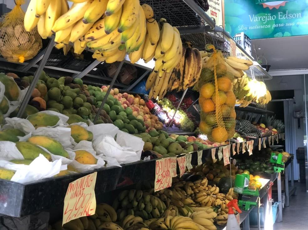 Brasil é o terceiro maior produtor de frutas do mundo — Foto: Anna Lúcia Silva/G1