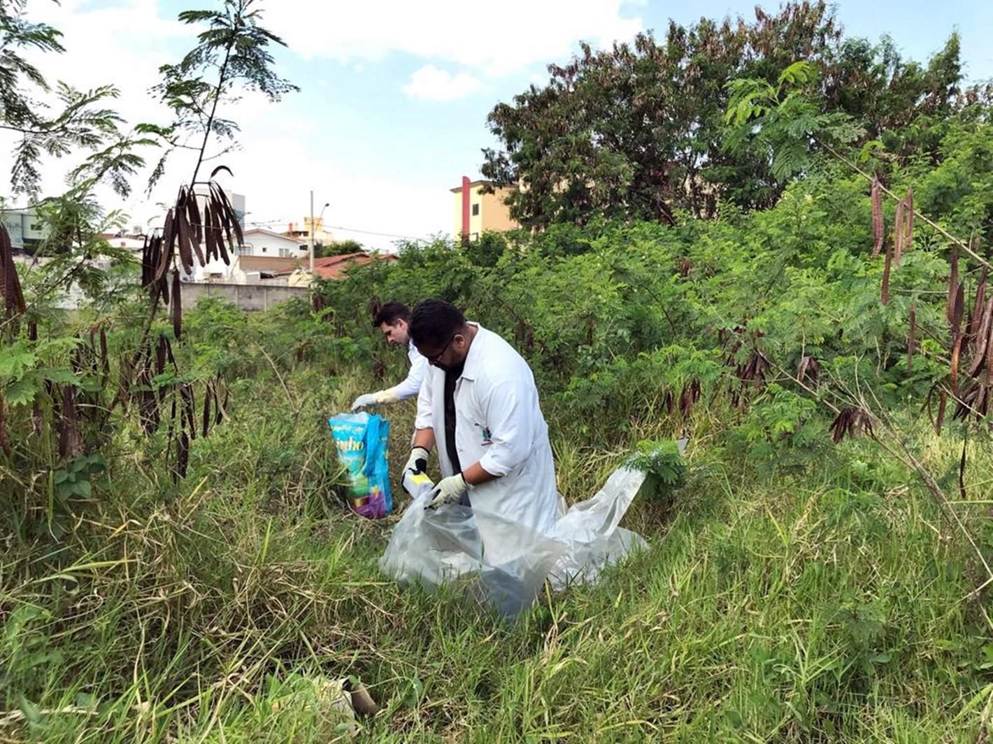 Cerca de 30 quilos de agulhas e seringas usadas são recolhidas em terreno baldio em Pouso Alegre, MG - Notícias - Plantão Diário