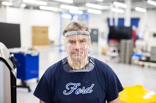 produção de máscaras de proteção no combate ao coronavírus (Foto: Divulgação)