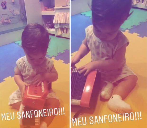Teodoro, filho de Michel Teló (Foto: Reprodução/Instagram)