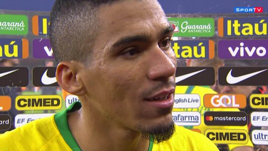 """Allan comemora """"estreia com o pé direito"""" na seleção brasileira: """"Estou muito feliz"""""""