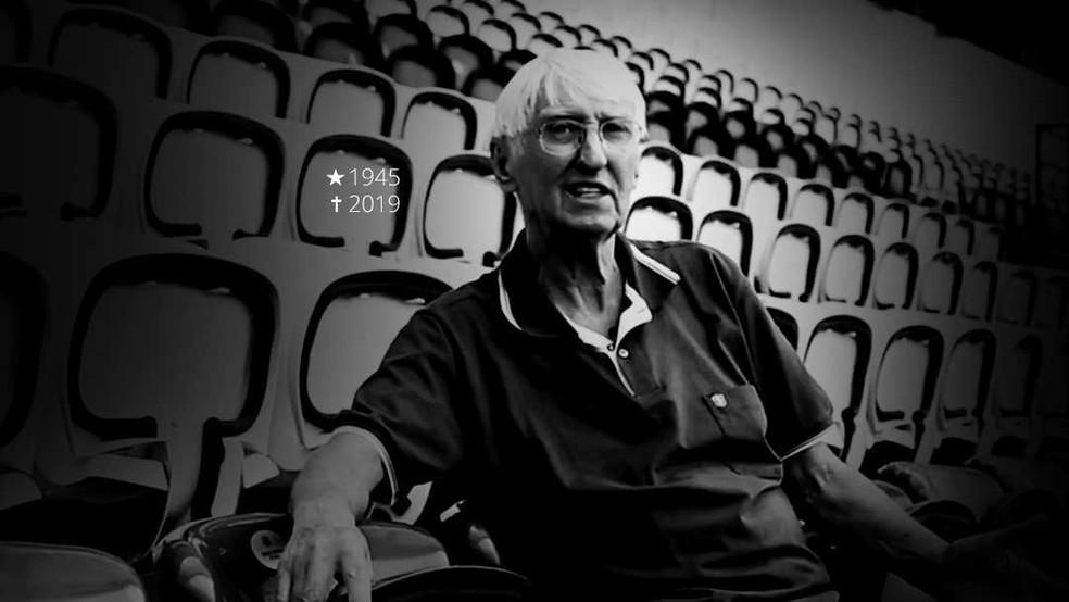 Dirceu Krüger morreu aos 74 anos. Ele esteve boa parte de sua vida dentro do Coritiba — Foto: Reprodução /Sportv