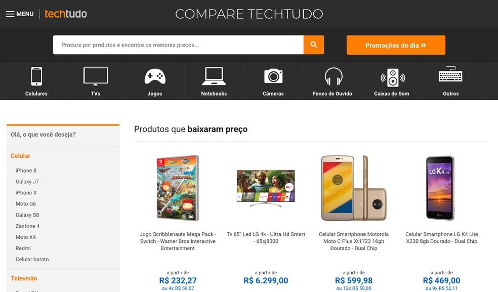 b3411fc184 ... Como encontrar um Xbox One mais barato com o comparador de preços do  TechTudo — Foto