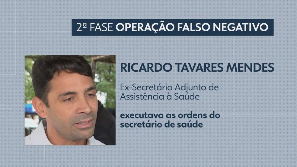 Ricardo Tavares Mendes — Foto: TV Globo/Reprodução