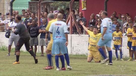 Jogo beneficente 'Parceiros do Bem' é disputado em Itanhaém