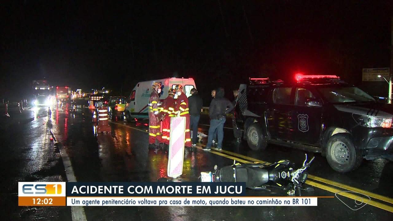 Agente penitenciário morre em acidente no ES