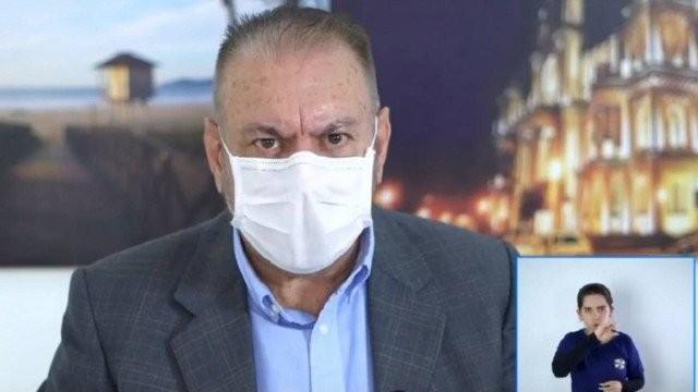 O prefeito de Itajaí (SC), Volnei Morastoni