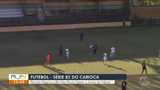 Pérolas Negras vence o Rio São Paulo por 3 a 1 fora de casa e dispara na liderança do grupo A